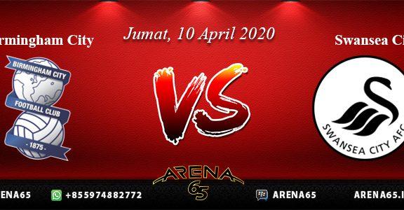 Prediksi Birmingham City Vs Swansea City 10 April 2020