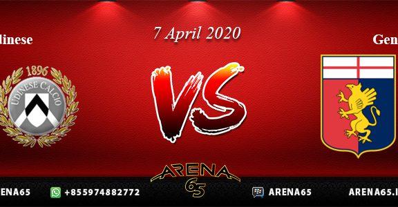 Prediksi Udinese Vs Genoa 7 April 2020